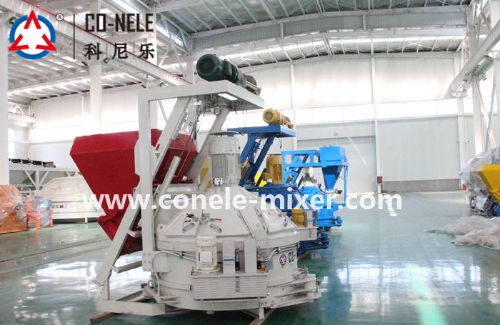 High Quality Planetary Concrete Mixer With Gearbox -