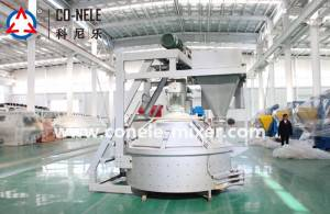 Good quality Co Nele Brand Concrete Pan Mixer -