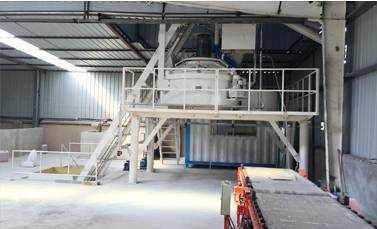 RPC cover mixing plant