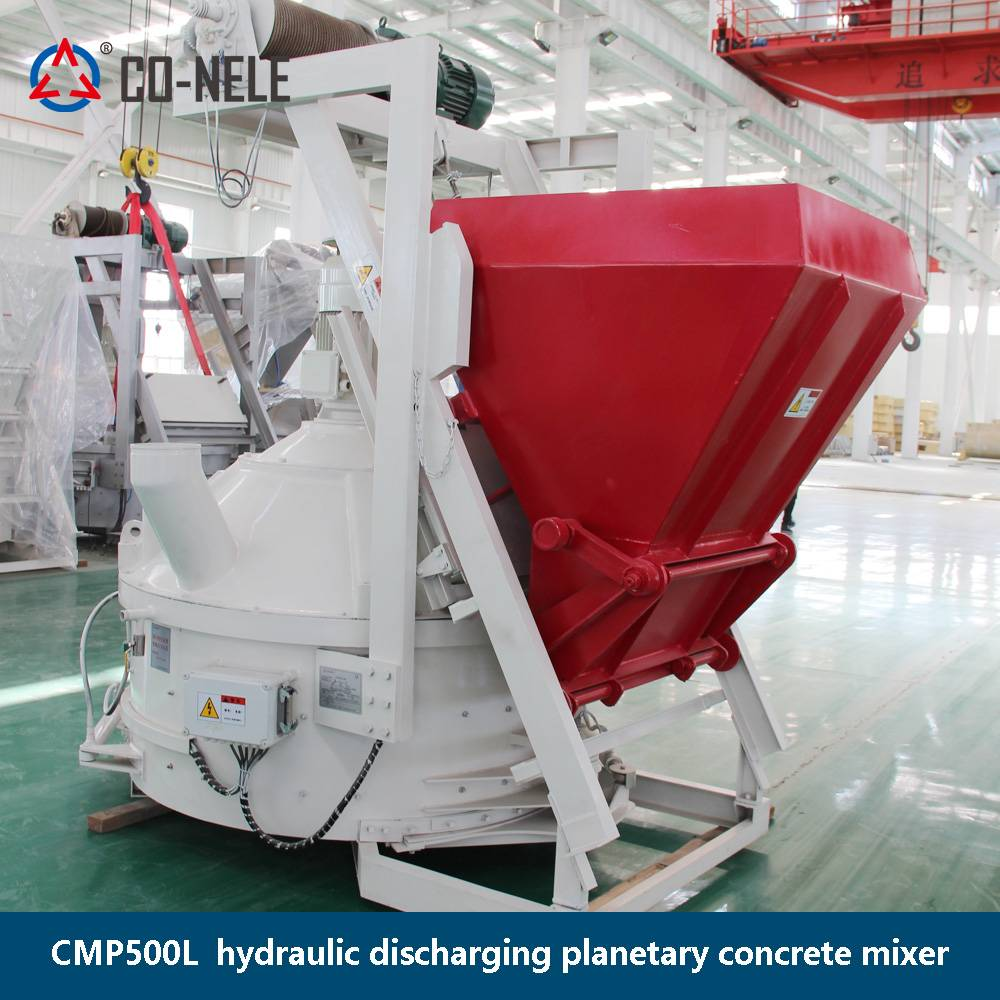 Manufacturer for Concrete Mixer With Price -