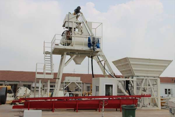 China Cheap price Mobile Concrete Batching Plant For Sale -