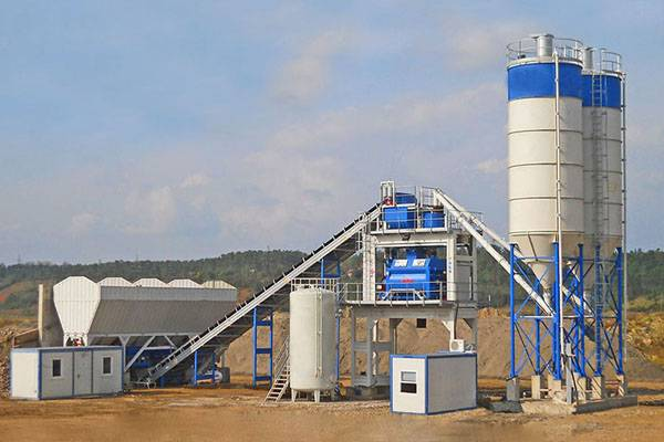 90m3/h sationary concrete batching plant Featured Image