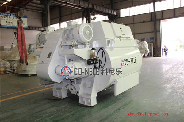 CHS1000 Double Horizontal Shaft Forced Concrete Mixer