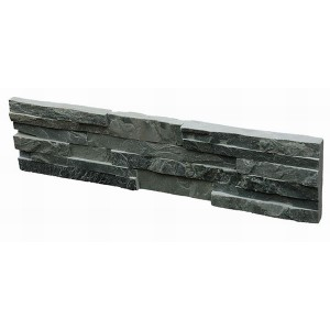CW802 Rough Green Cleft Stacked Stone
