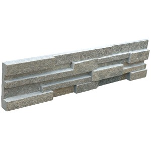 CW835 Green 3d Cultural Stone Wall Cladding
