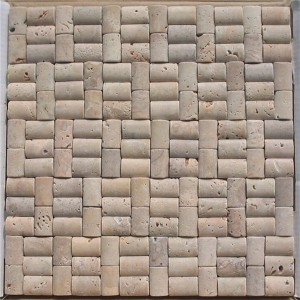 CM517 Travertine Tumbled 2×4