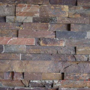 CW738 Rusty Cleft Rough Stacked Stone