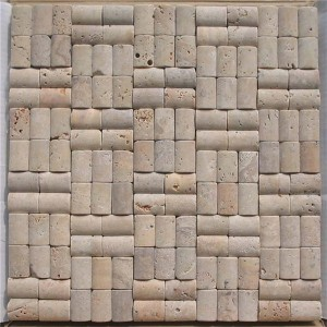 CM518 Travertine Tumbled 4×2