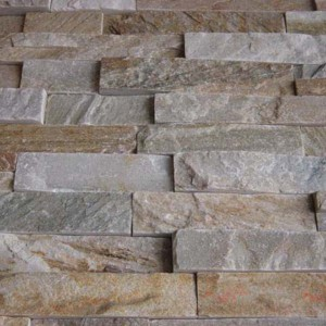 CW733 YelloW Cleft Rough Stacked Stone