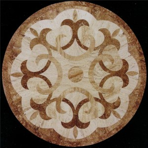 CP19 Flower Of Lily Marble Pattern