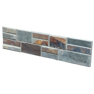 CW808 Rusty Cleft Stacked Stone