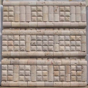 CM519 Travertine Tumbled 100×305