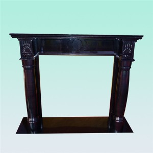 CF125 China Black English fireplace