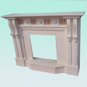 CF004 Victorian English fireplace