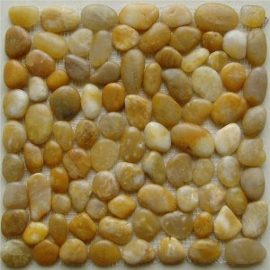 CM557 Pebbles  Polished Yellow Pebble