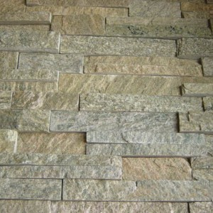 CW750 YelloW Rough Cut Stacked Stone