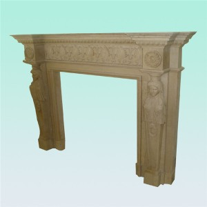 CF043 French fireplace