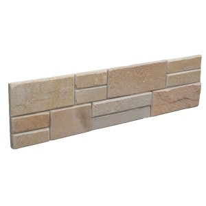 CW821 YelloW Flat Stacked Stone
