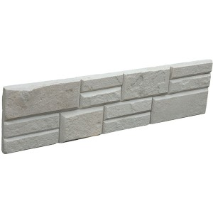 CW818 Red gur ranor Flat Stacked Stone