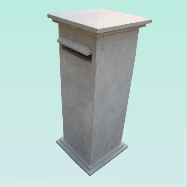 CL012 BLUE LIMESTONE MAILBOX Featured Image