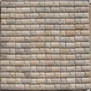 CM520 Travertine Tumbled 2×2