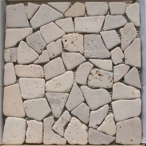 CM525 Travertine Flat Random