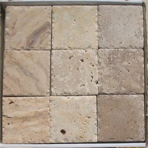 CM522 Travertine Tumbled Polished100x100