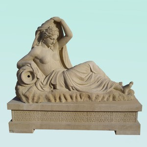 CC184 Sandstone Female Figure