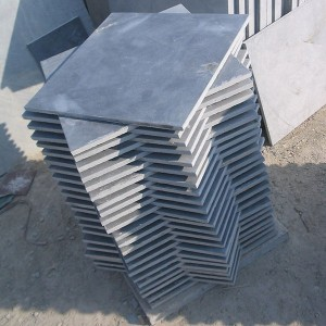 CL003 Blue Limestone Honed Tile