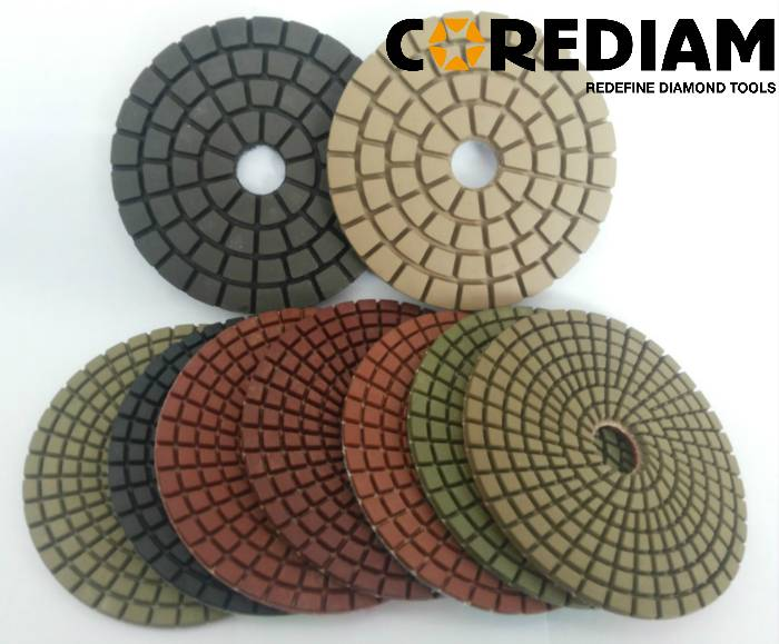 Wet Pads for Stone Polishing