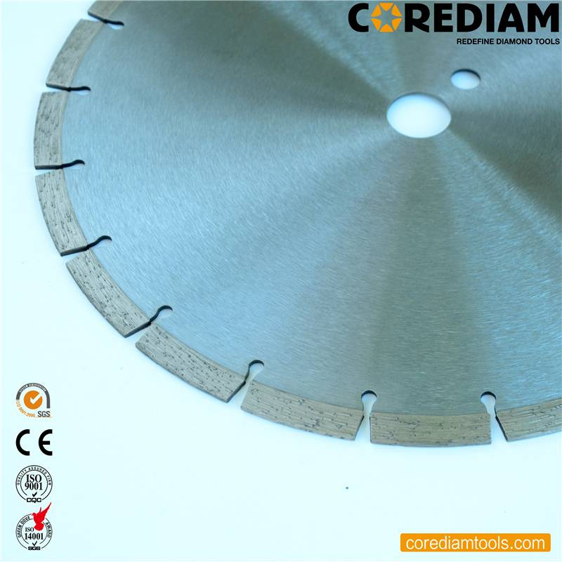 China Sinter hot-pressed concrete saw blade Manufacturer and