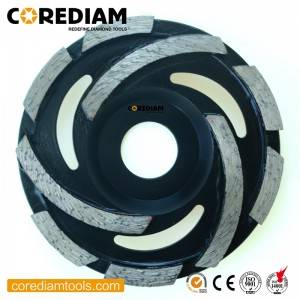 High Performance Cyclone Diamond Abrasive Wheel