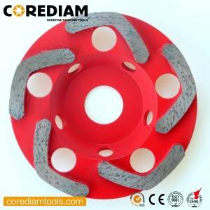 High Quality Professional F Segment Abrasive Wheel
