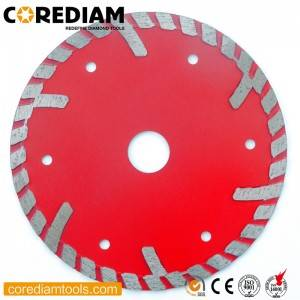 Sintered Hot-pressed Stone Saw Blade with Protective Segment