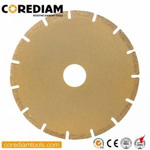 Vacuum Brazed Diamond Saw Blade for Granite and Marble