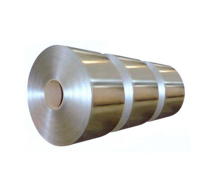 Cold Rolled 304 Hairline Finish PVC Coated Decorative Stainless Steel Coil Featured Image