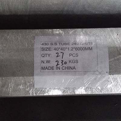 2017 New Style Ss304 Finish Stainless Steel Sheet -