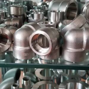 90 degree 2205 stainless steel elbow