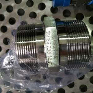 316l stainless steel hex nipple