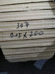 304L   Stainless Steel Strip Coil    0.05*200