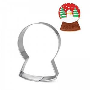 Crystal Ball Snow Globe Ferris Wheel Cookie Cutters for Christmas