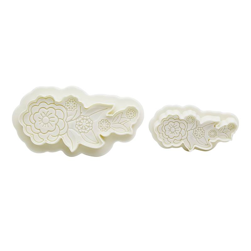 ABS Flower & Leaves Plunger Cutter Set for Fondant & Cookie & DIY No.1000 Featured Image