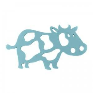 3pcs/set Silicone cow design pot mat KC-090