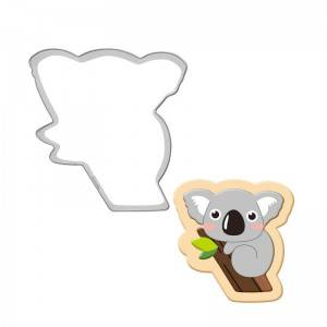 koala cookie cutter stainless steel