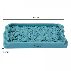 3D Full Flower Cake Silicone Embossing Mat Fondant Impression Textured Cake Border Decorating Mold Icing Candy Sugar Gum Paste Moulds