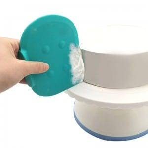 Silicone scraper with base K1107
