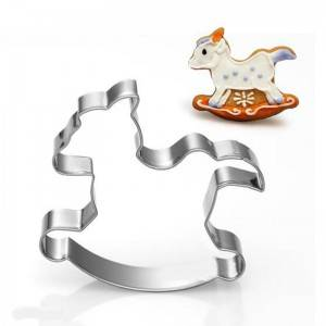 Hobby Horse Shaped Cookie Cutter For Kids