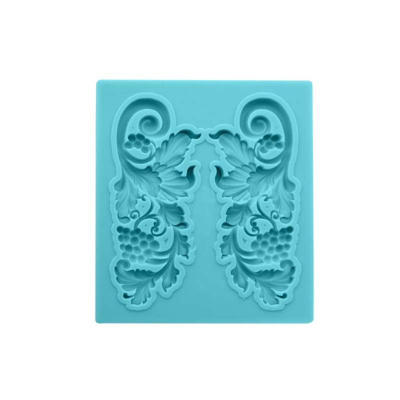Frame chocolate fondant silicone mold CM-4432 Featured Image
