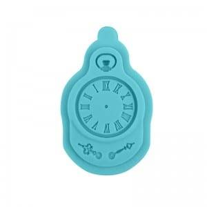 Clock chocolate fondant silicone mold CM-4438