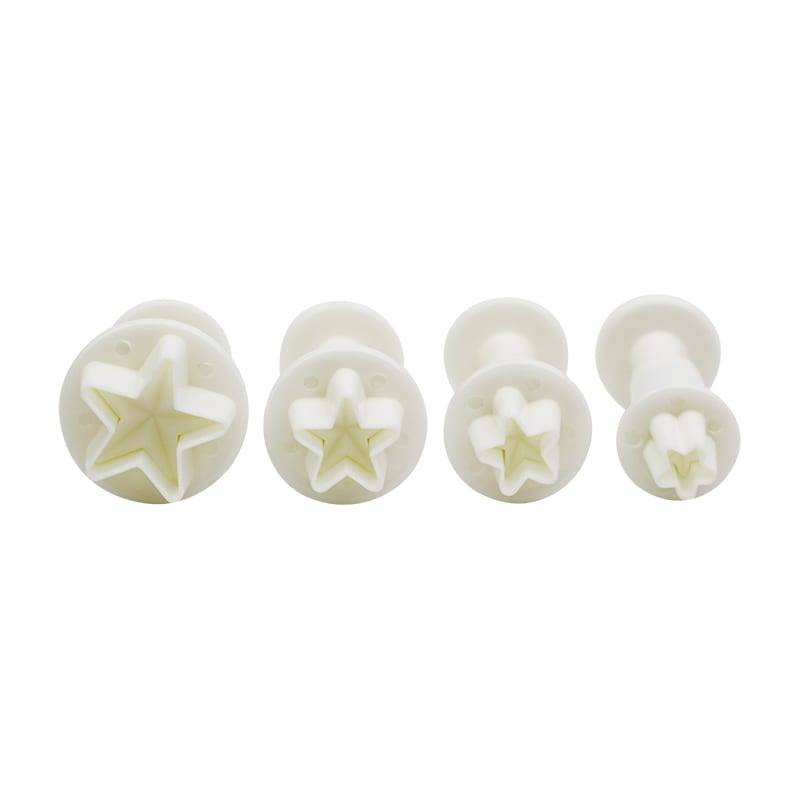 4pcs Star Plunger Cutter Set 3DNO.55 Featured Image